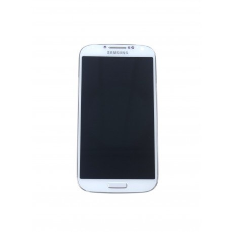 Samsung Galaxy S4 i9505 LCD + touch screen + front panel white