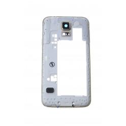 Samsung Galaxy S5 G900F - Rám středový zlatá - originál