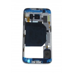 Samsung Galaxy S6 G920F - Rám středový bleděmodrá - originál