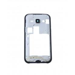 Samsung Galaxy J1 J100H - Rám stredový čierna