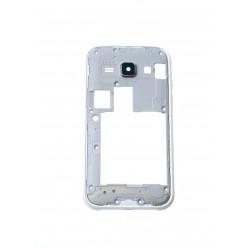 Samsung Galaxy J1 J100H - Middle frame white