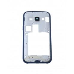 Samsung Galaxy J1 J100H - Rám stredový modrá