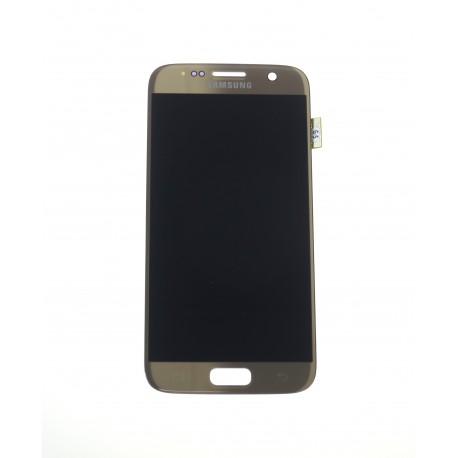 Samsung Galaxy S7 G930F LCD + touch screen gold - original