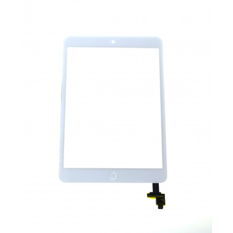Apple iPad mini, 2 Touch screen + IC connector + homebutton flex white