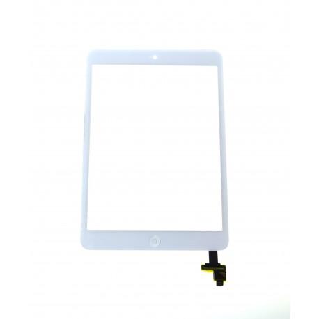 Apple iPad mini, 2 Dotyková plocha + IC konektor + homebutton biela