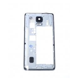 Samsung Galaxy Note 4 N910F rám stredový čierna OEM