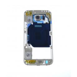 Samsung Galaxy S6 G920F - Rám stredový zlatá - originál