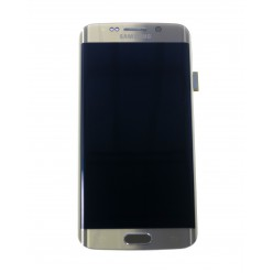 Samsung Galaxy S6 Edge G925F - LCD displej + dotyková plocha + rám zlatá - originál