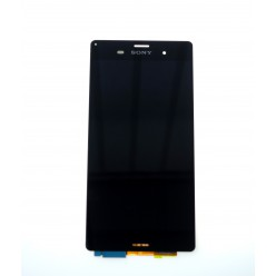Sony Xperia Z3 D6603 - LCD displej + dotyková plocha čierna