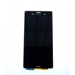 Sony Xperia Z3 D6603 - LCD displej + dotyková plocha černá