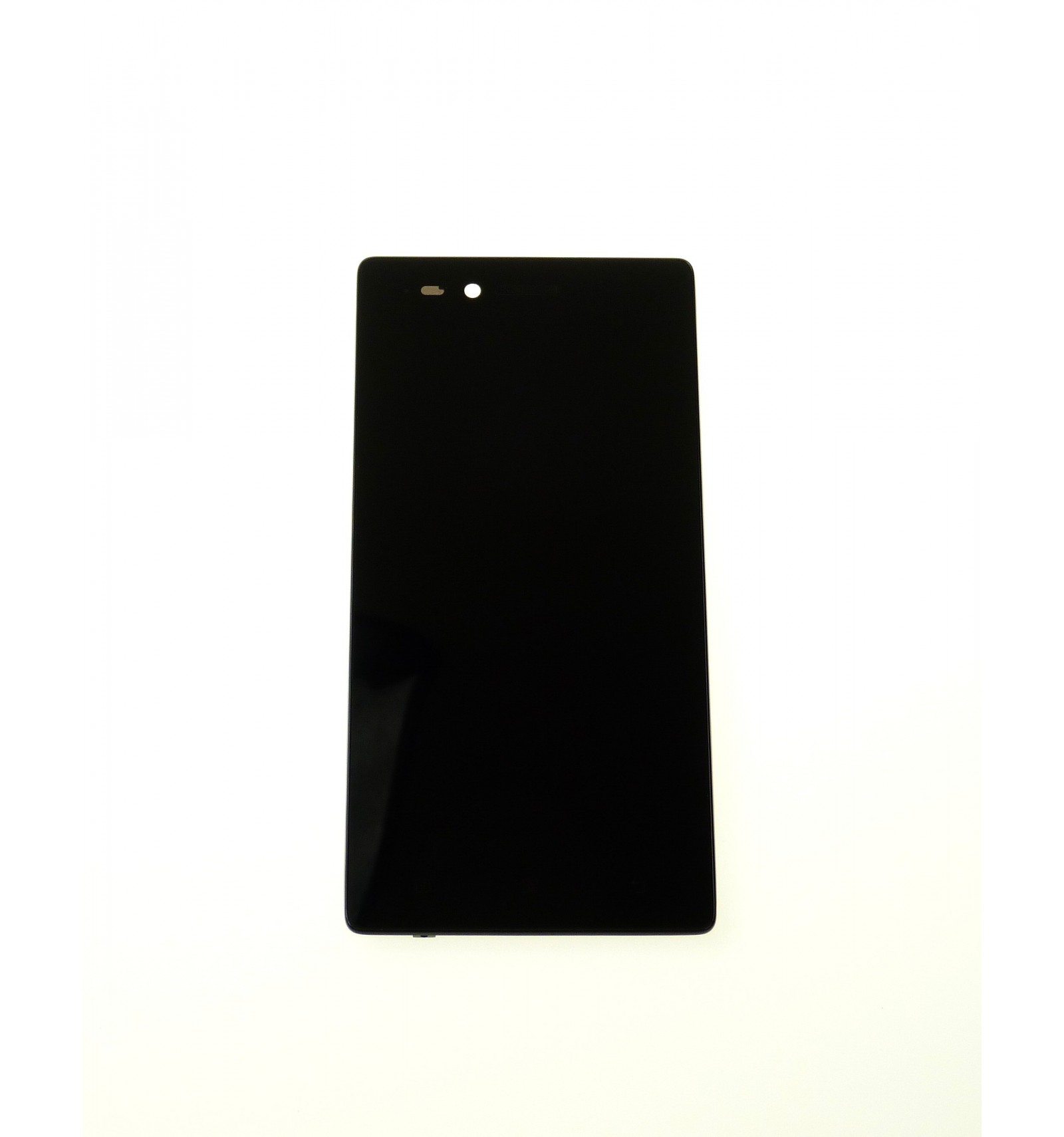 Lcd Touch Screen Front Panel Black Oem For Lenovo Vibe Shot Grey Smartphone 3v1 Cierna