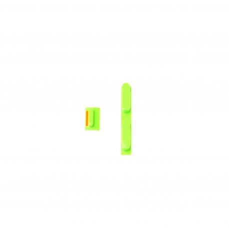 Apple iPhone 5C Plastic volume buttons green