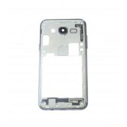 Samsung Galaxy J5 J500FN - Rám stredový čierna - originál