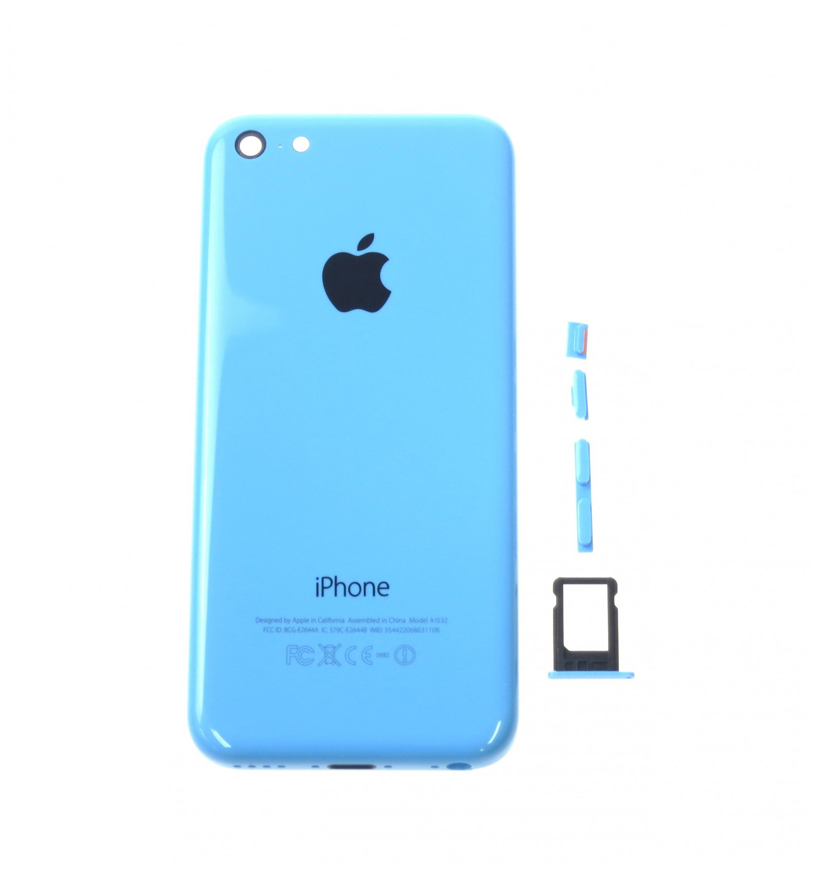 Battery cover blue OEM for Apple iPhone 5C  92483f37fd0