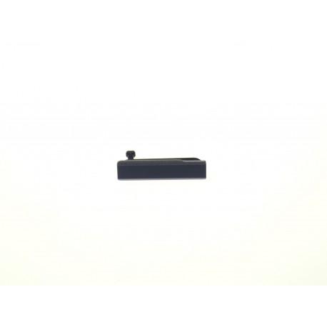 Sony Xperia Z1 C6903 - Krytka nabíjacieho konektora čierna - originál