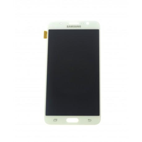 Samsung Galaxy J7 J710F (2016) - LCD displej + dotyková plocha biela - originál