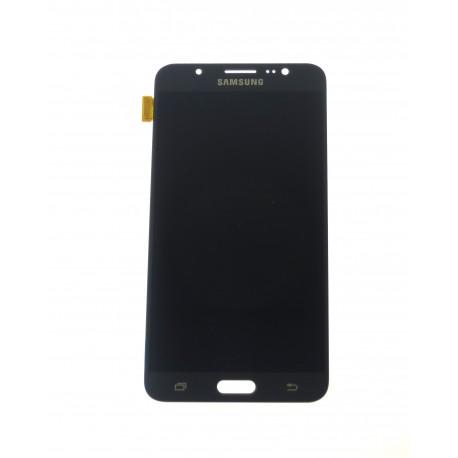 Samsung Galaxy J7 J710F (2016) - LCD displej + dotyková plocha čierna - originál