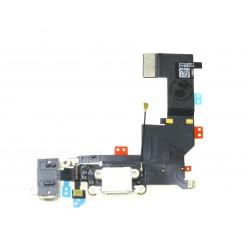 Apple iPhone 5S - Flex nabíjací biela - originál