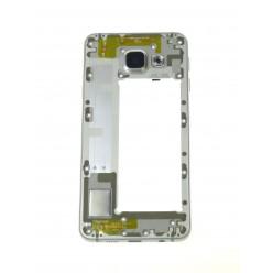 Samsung Galaxy A3 A310F (2016) - Rám středový bílá - originál
