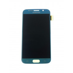 Samsung Galaxy S6 G920F - LCD displej + dotyková plocha bledomodrá - originál