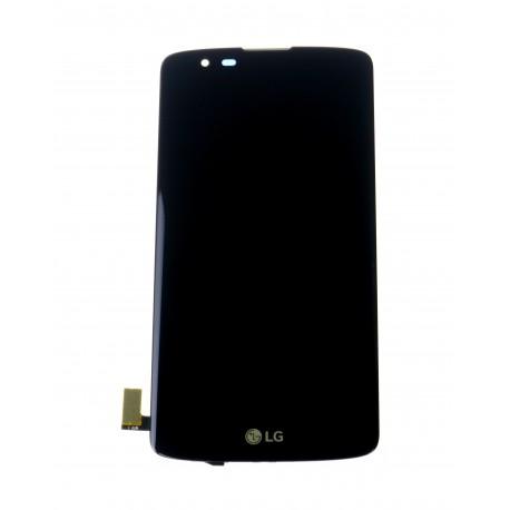 LG K8 K350N - LCD displej + dotyková plocha + rám čierna