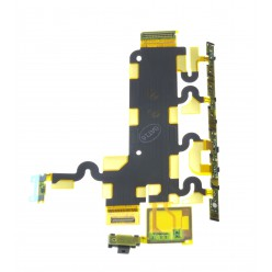 Sony Xperia Z1 C6903 - Microphone + side buttons flex - original