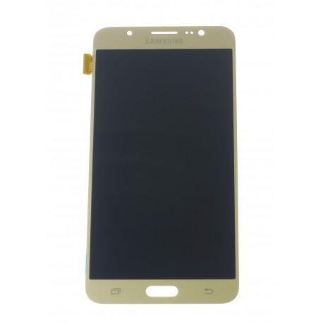 Samsung Galaxy J7 J710F (2016) - LCD displej + dotyková plocha zlatá - originál