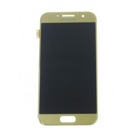 Samsung Galaxy A3 (2017) A320F LCD + touch screen gold - original