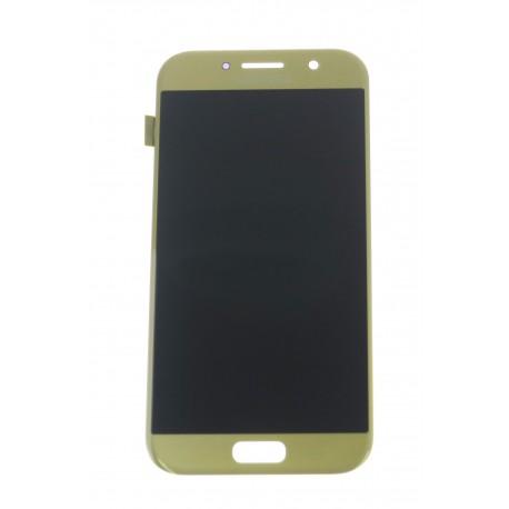 Samsung Galaxy A5 (2017) A520F LCD displej + dotyková plocha zlatá - originál