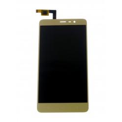 Xiaomi Redmi Note 3 - Čínska distribuce LCD displej + dotyková plocha zlatá