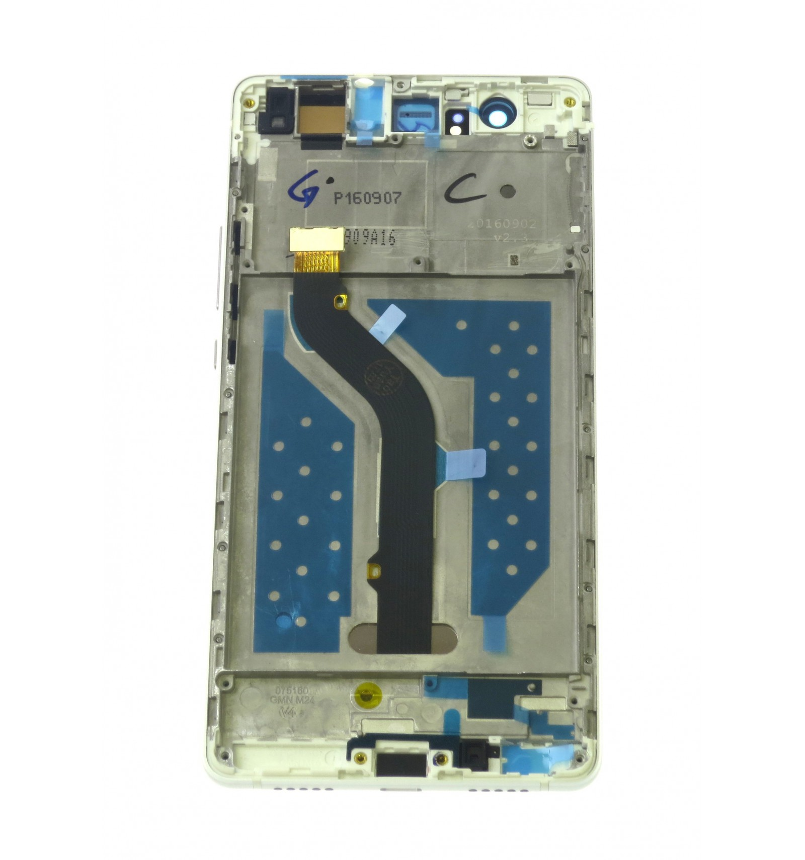 LCD Touch Screen Front Panel White OEM For Huawei P9