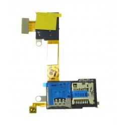 Sony Xperia M2 D2303 - SIM and microSD reader flex