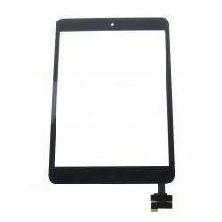 Apple iPad mini, 2 - Dotyková plocha + IC konektor + homebutton černá