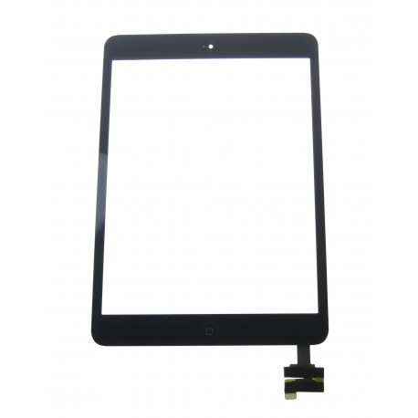 Apple iPad mini, 2 Touch screen + IC connector + homebutton flex black