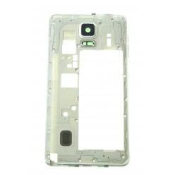 Samsung Galaxy Note 4 N910F - Rám středový bílá - originál