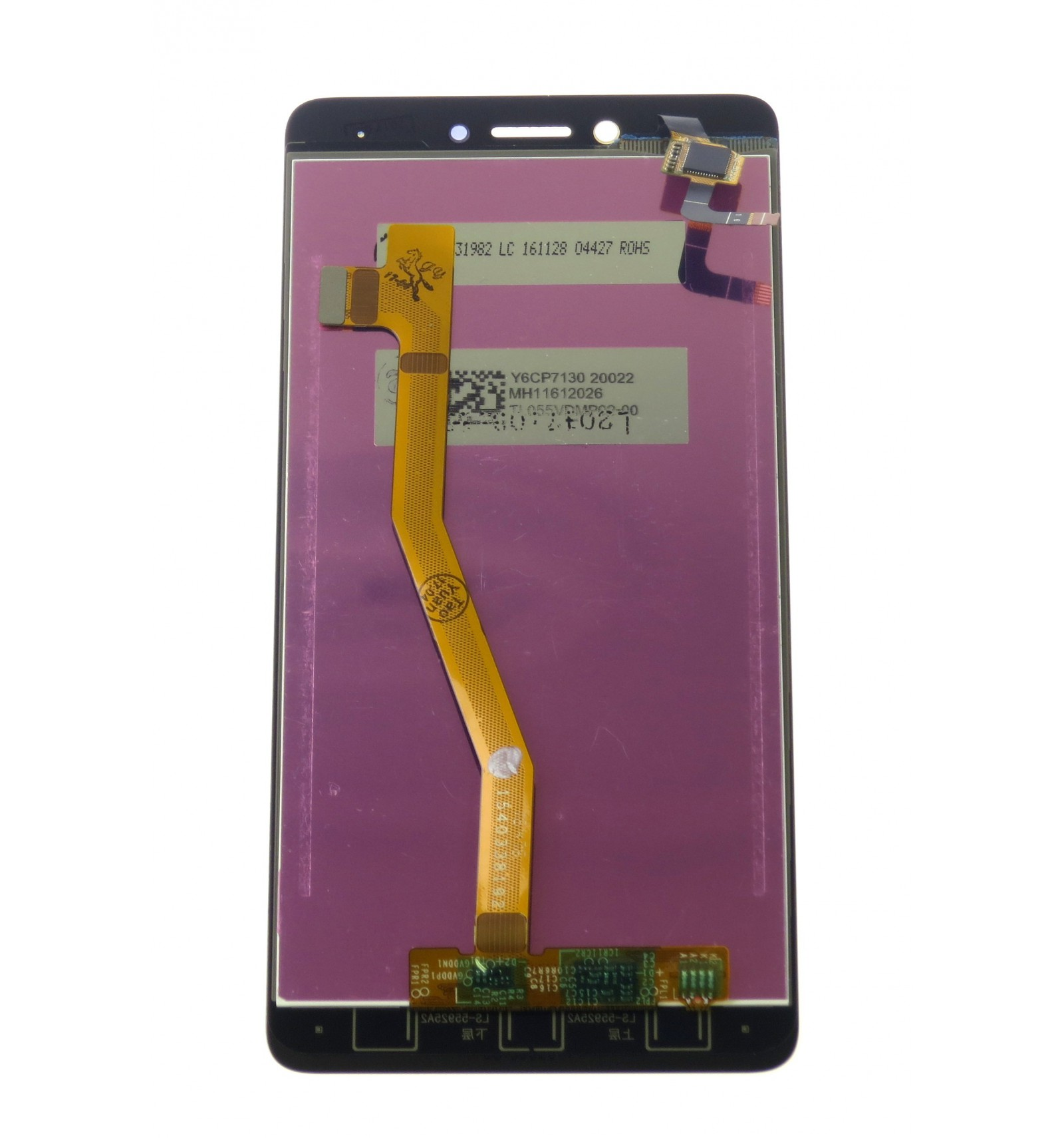 LCD + touch screen gold replacement for Lenovo K6 Note | lcdpartner com