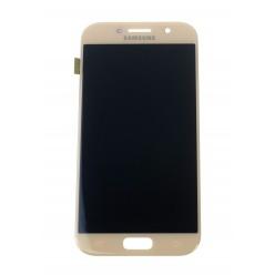 Samsung Galaxy A5 (2017) A520F - LCD displej + dotyková plocha růžová - originál