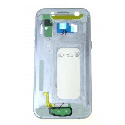 Samsung Galaxy A3 (2017) A320F - Rám středový + baterie modrá - originál