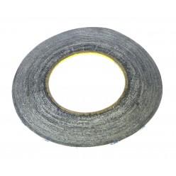 3M Obojstranná páska (0.07mm, 3mm, 50m) čierna