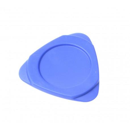 Plastic triangle blue