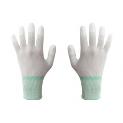 ESD gloves size M white