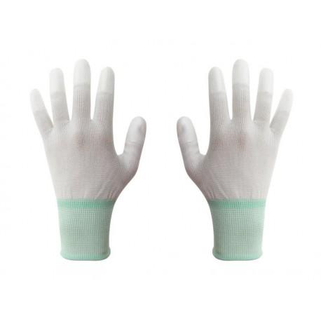 ESD rukavice veľkosť M biela