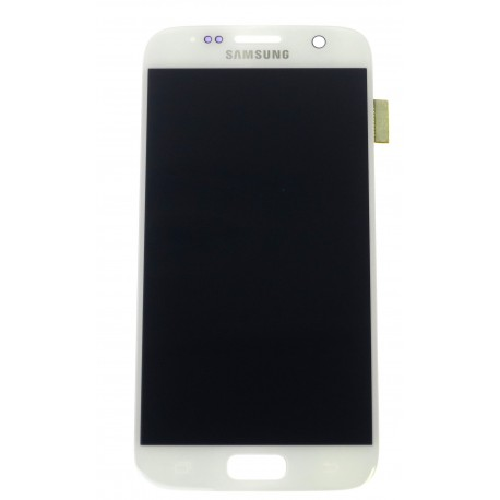 Samsung Galaxy S7 G930F LCD displej + dotyková plocha biela - originál