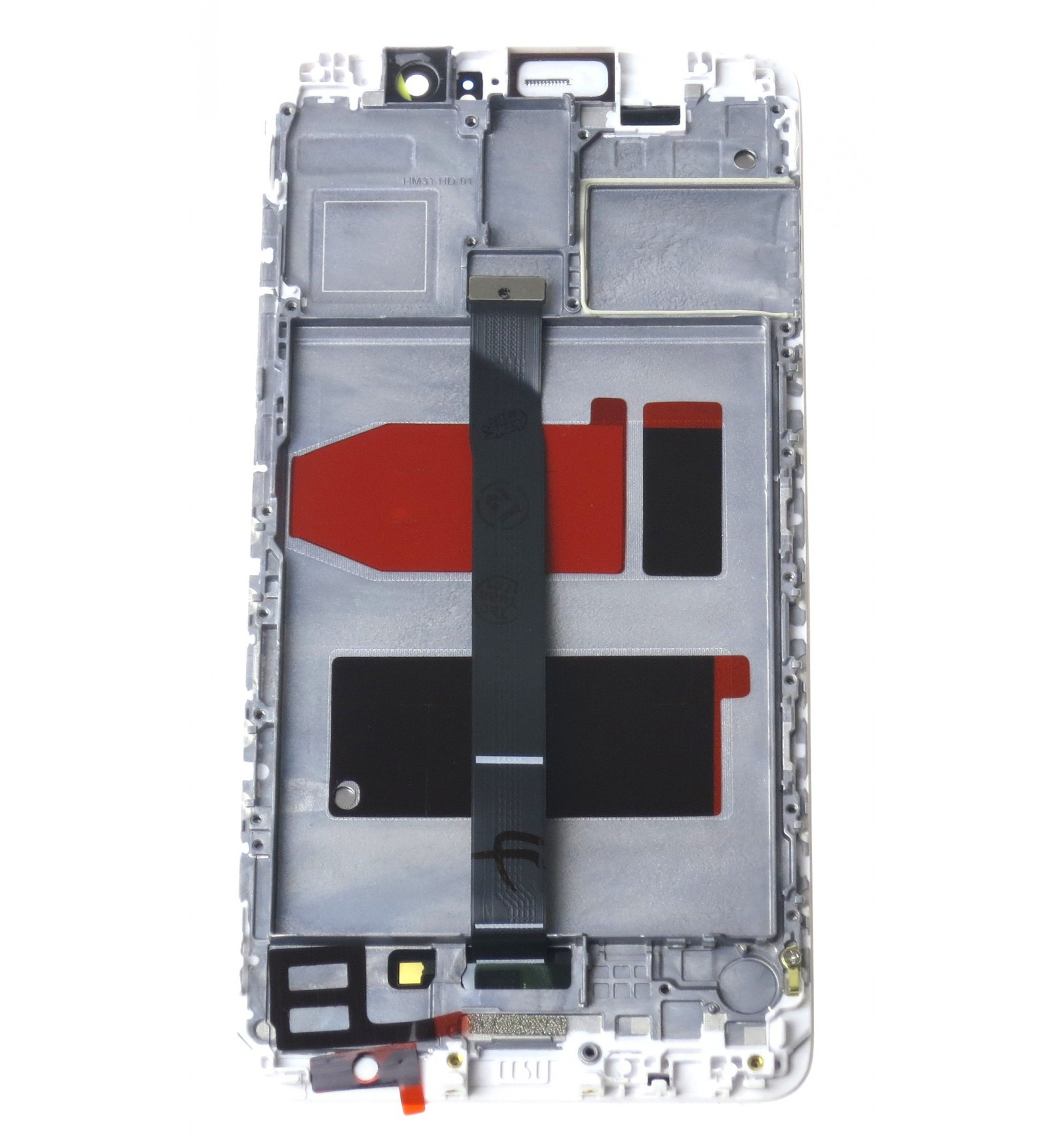 LCD Touch Screen Front Panel White OEM For Huawei Mate
