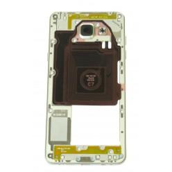 Samsung Galaxy A5 A510F (2016) - Rám stredový biela - originál
