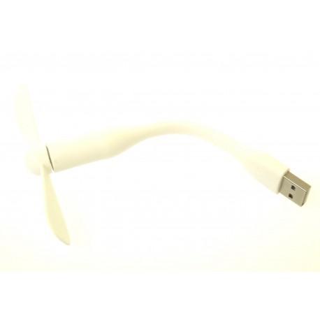 USB ventilátor biela