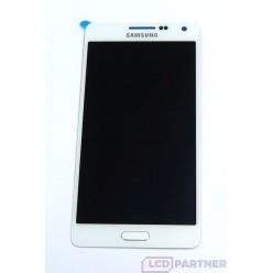 Samsung Galaxy A5 A500F - LCD displej + dotyková plocha biela - originál