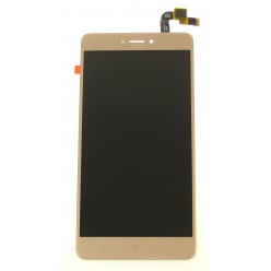 Xiaomi Redmi Note 4x - LCD + touch screen gold