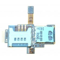 Samsung Galaxy S i9000 - Čítač sim a microSD - originál