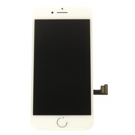Apple iPhone 7 - LCD displej + dotyková plocha + malé diely biela - TianMa